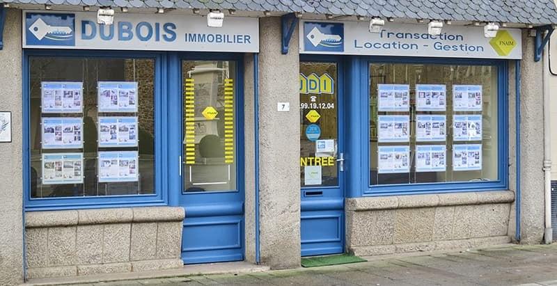 Dubois Immobilier Agence de Saint-Jouan des Guérets - Vitrine