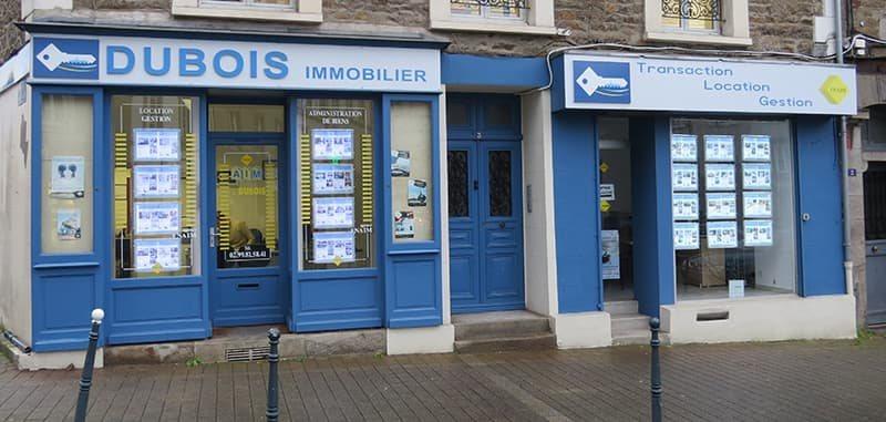 Dubois Immobilier Agence de Saint-Malo - Vitrine